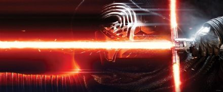 Panoramic wallpaper Star Wars Sword